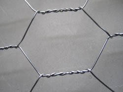 Hot Dipped Galv. Steel Chicken Wire Netting For Fence or Gabion Uses