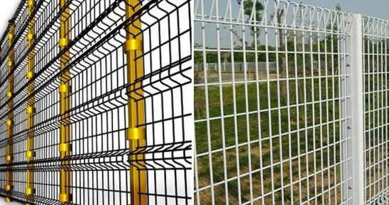 Powder Coated Steel Security Fencing